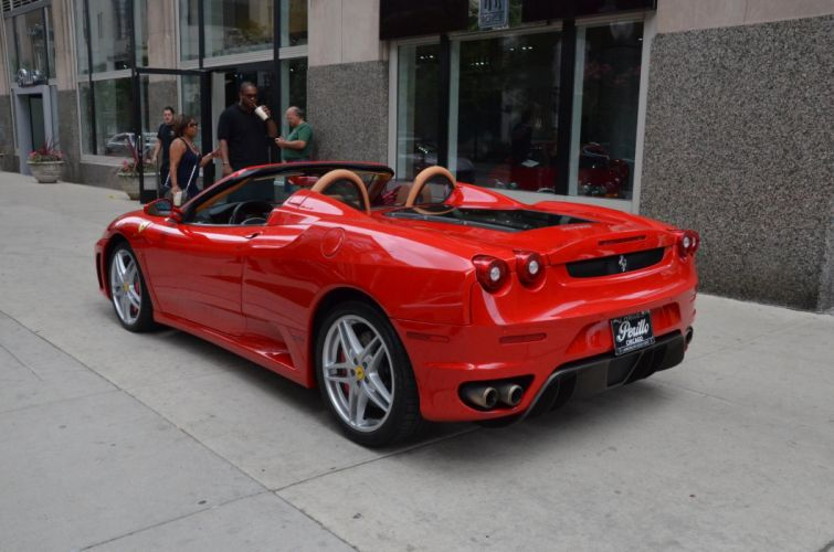 2008 Dreamcar Exotic F430 Ferrari italian spider sportscar Supercar CORSA RED rouge wallpaper