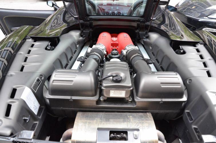 2008 black noire Dreamcar Exotic F430 Ferrari italian spider sportscar Supercar wallpaper