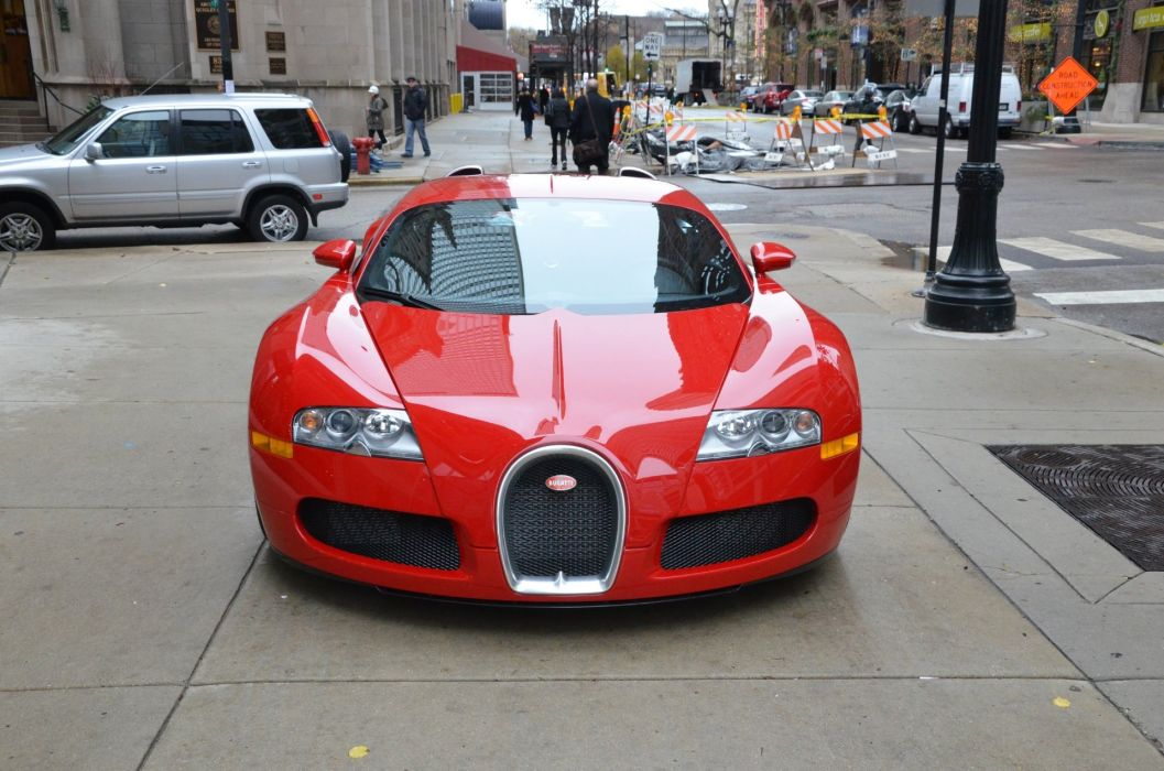 2008 Bugatti Veyron 16_4 red rouge rosso Dreamcar Exotic italian sportscar Supercar wallpaper