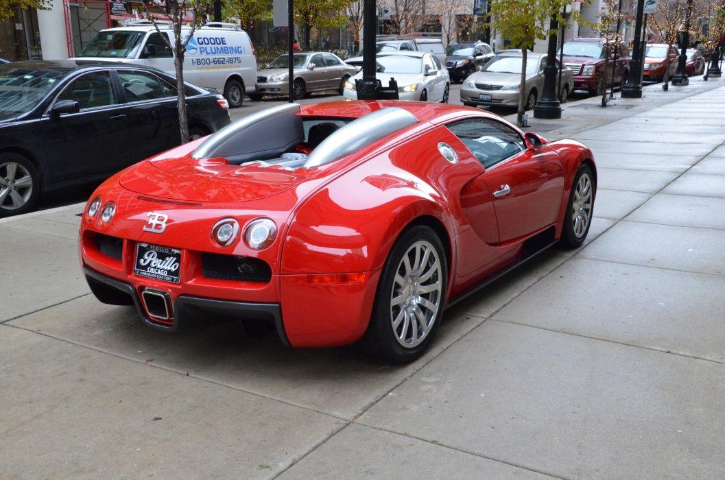 2008 Bugatti Veyron 16_4 red rouge rosso Dreamcar Exotic italian sportscar Supercar wallpaper