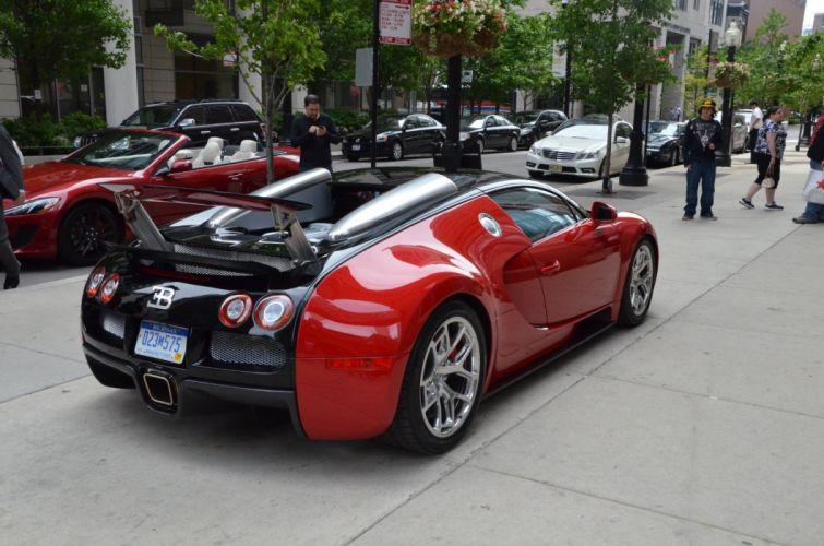 grand sport 2012 Bugatti Dreamcar Exotic italian red rosso rouge sportscar Supercar Veyron wallpaper