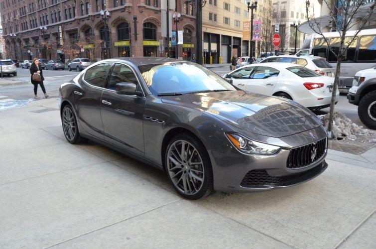 2014 Maserati Ghibli GRIGIO MARATEA Exotic italian wallpaper