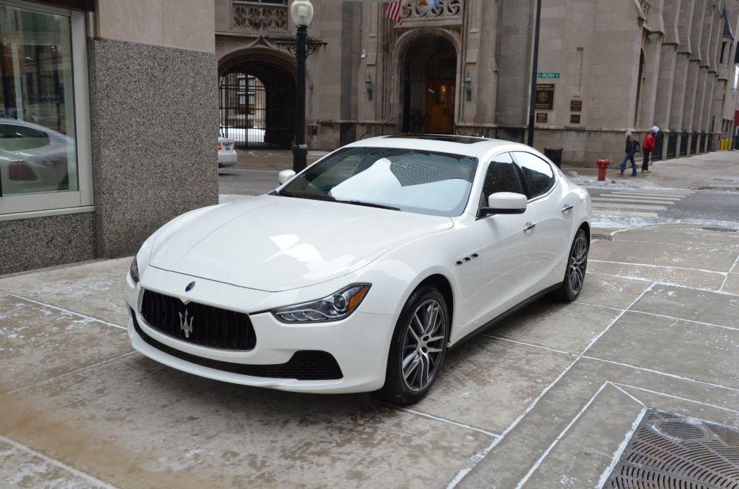 2014 Exotic ghibli bianco blanc white italian MARATEA Maserati wallpaper