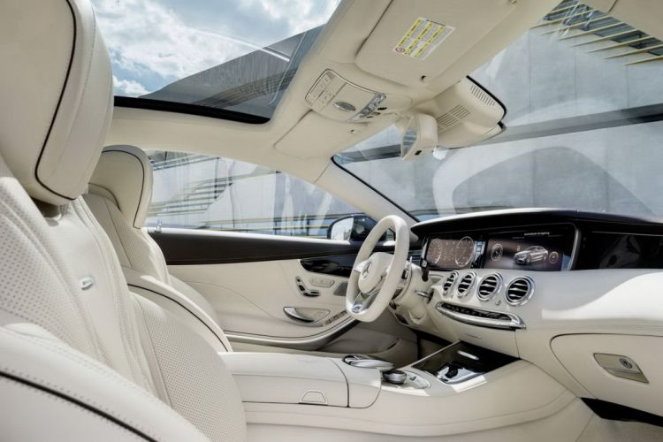 2014 Mercedes S65 AMG V12 Coupe germany interior wallpaper