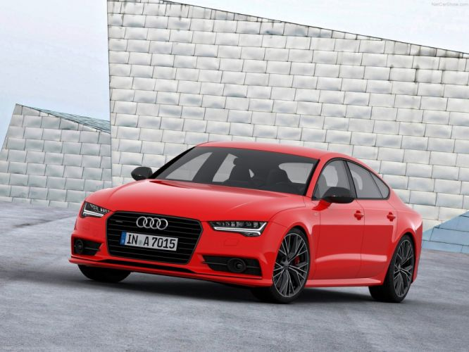 2014 Audi A7 Sportback 3_0 TDI competition germany sportscar red wallpaper