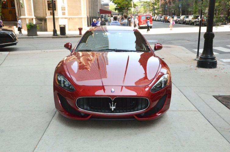 2014 Maserati GranTurismo Dreamcar Exotic italian red rosso rouge TRIONFALE sportscar Supercar wallpaper