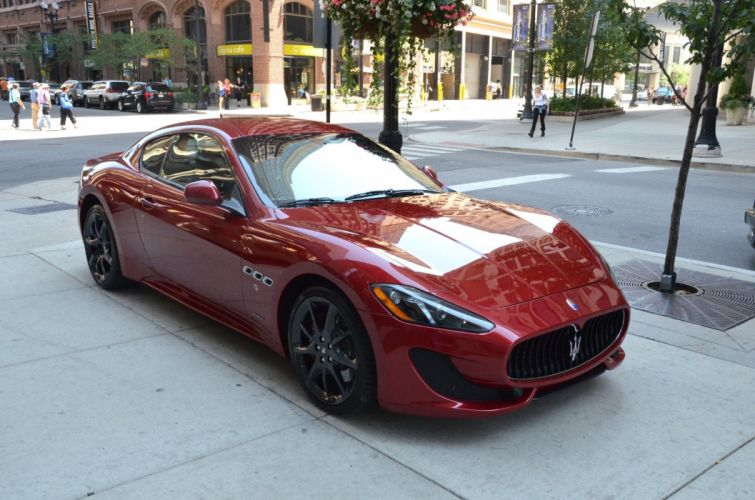 2014 Maserati GranTurismo Dreamcar Exotic italian red rosso rouge TRIONFALE sportscar Supercar wallpaper