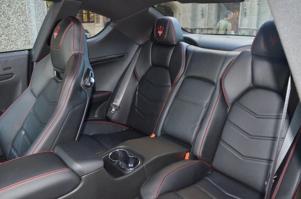 2014 Dreamcar Exotic granturismo italian Maserati sportscar Supercar black wallpaper