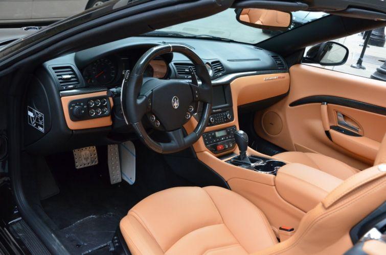 2014 nero black noir Dreamcar eldorado Exotic granturismo italian Maserati sportscar Supercar wallpaper