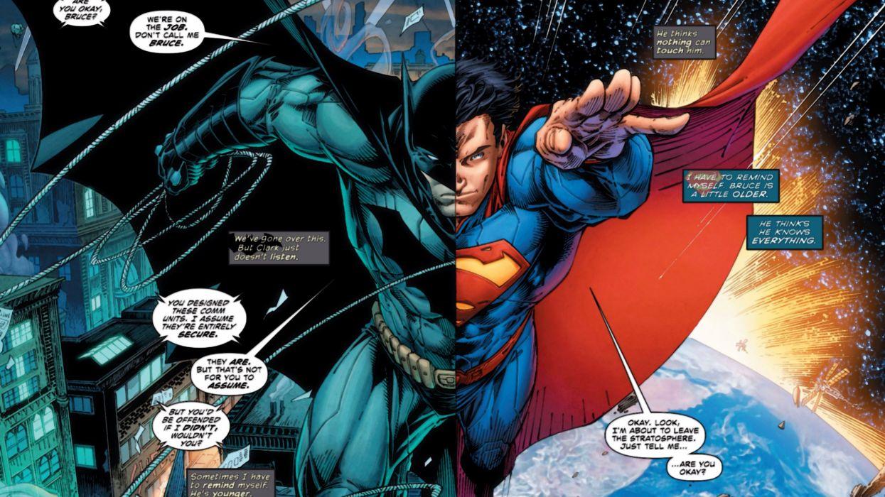 Batman/Superman wallpaper