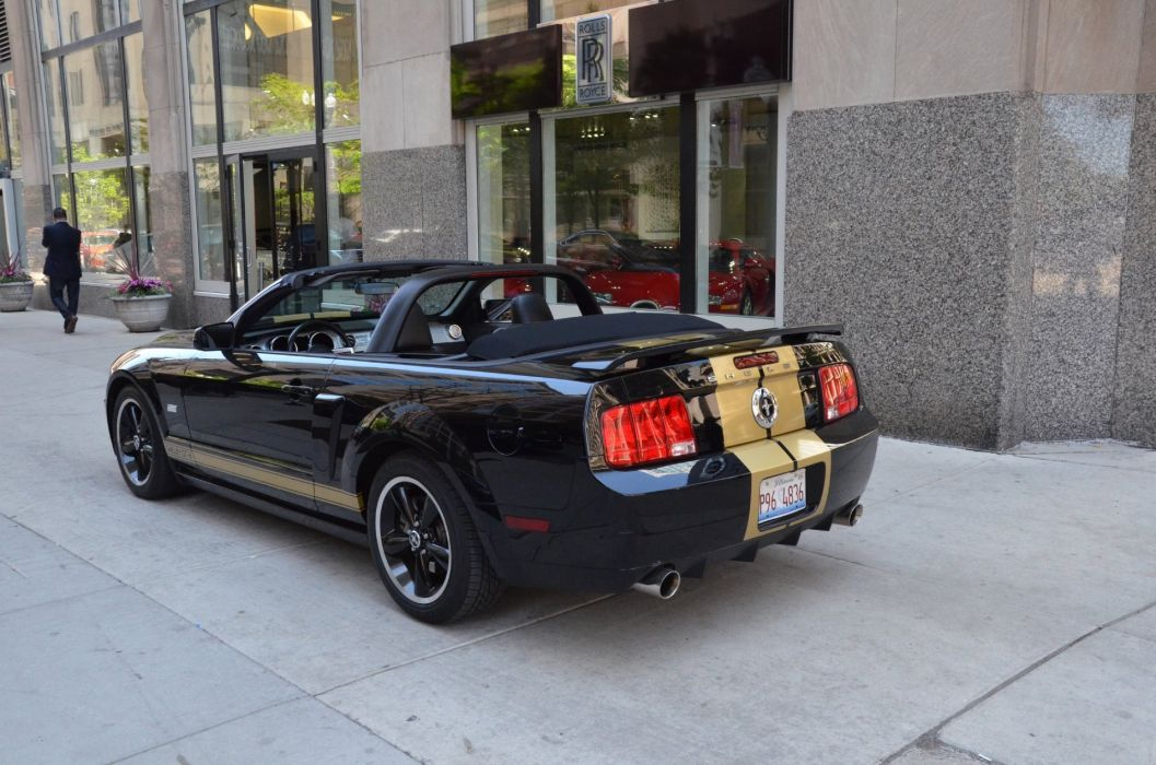 2007 Ford Mustang shelby gt-h convertible hertz wallpaper