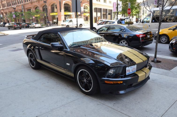 2007 Ford Mustang shelby gt-h convertible hertz wallpaper
