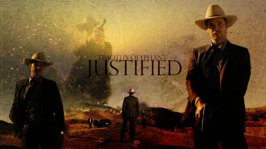 JUSTIFIED action crime drama (1) wallpaper