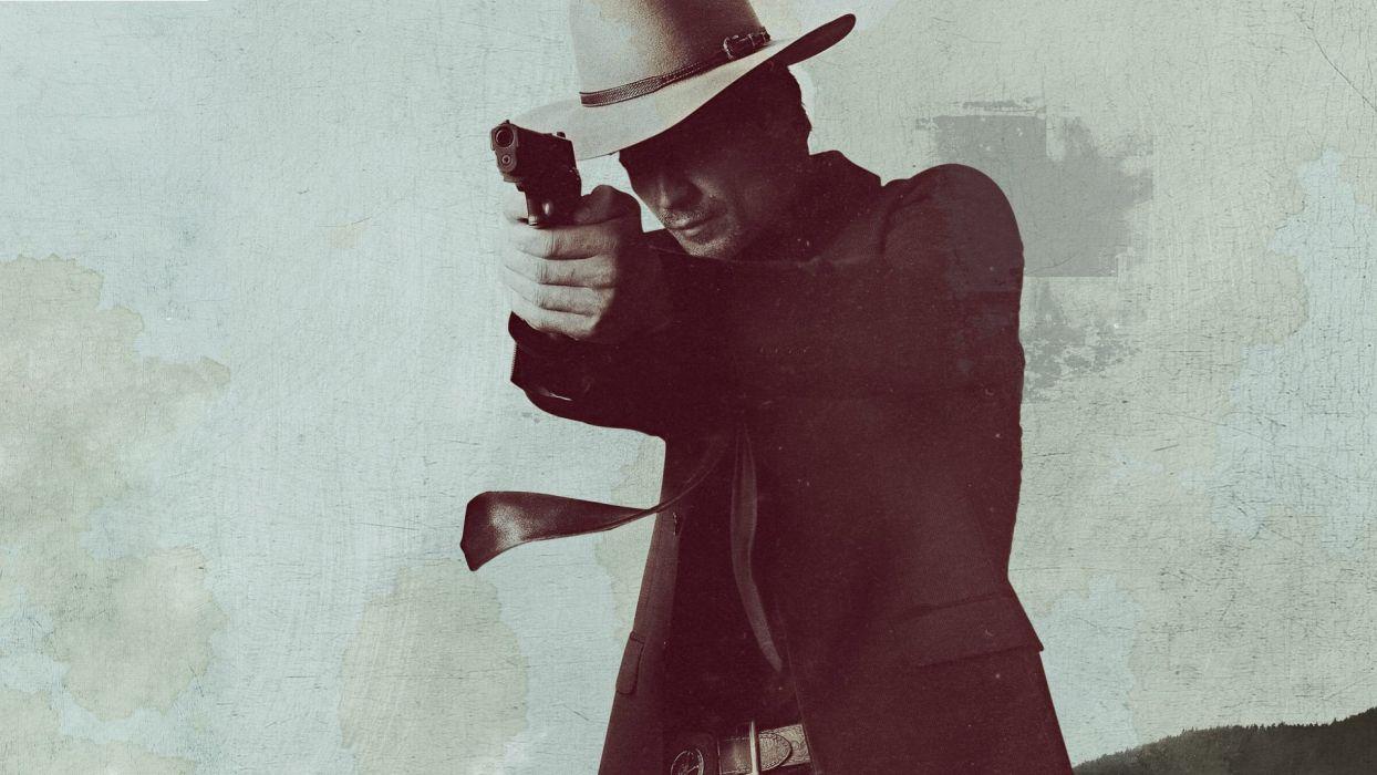 JUSTIFIED action crime drama (8) wallpaper