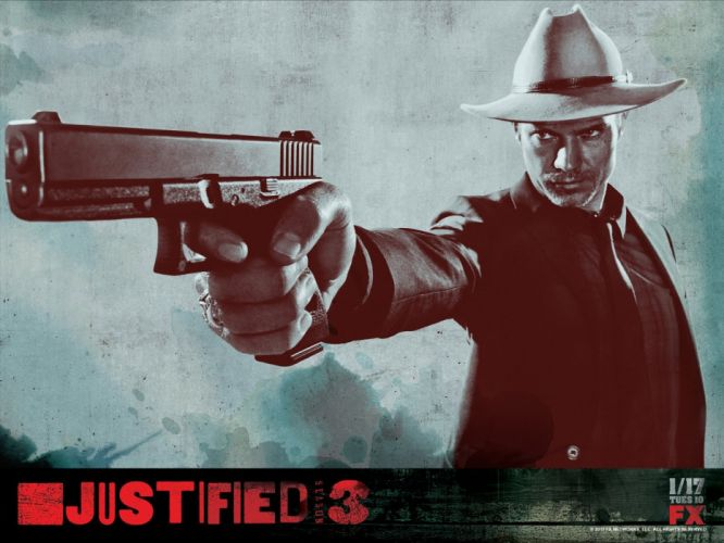 JUSTIFIED action crime drama (19) wallpaper