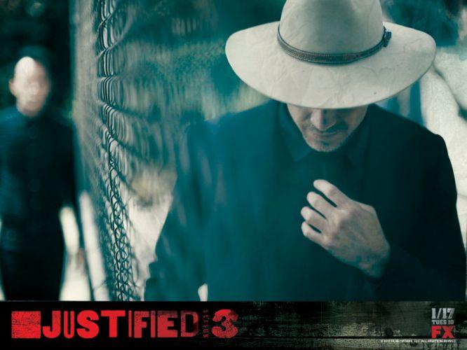 JUSTIFIED action crime drama (21) wallpaper
