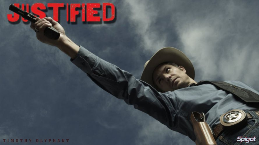 JUSTIFIED action crime drama (26) wallpaper