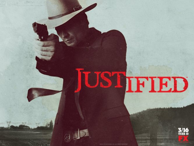 JUSTIFIED action crime drama (28) wallpaper