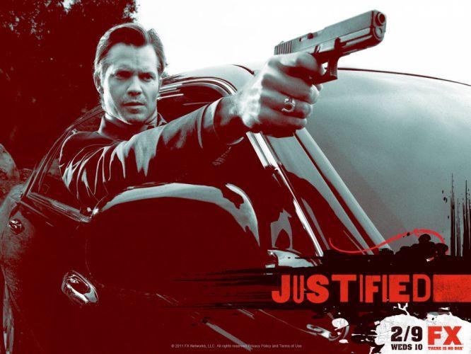 JUSTIFIED action crime drama (39) wallpaper