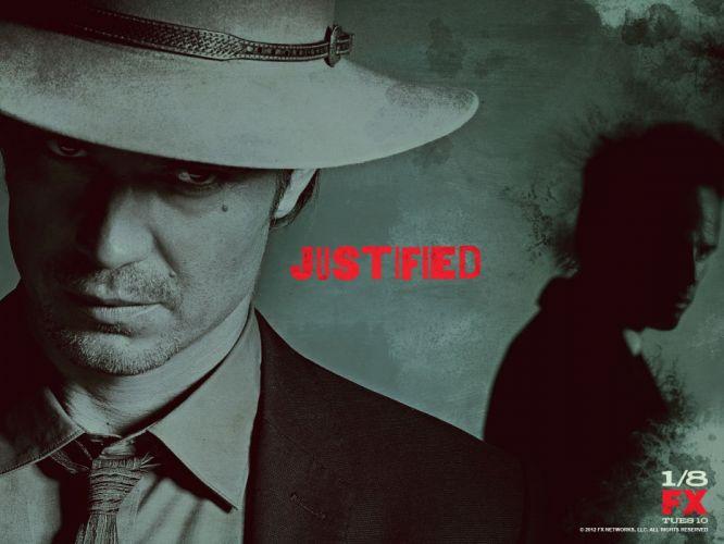 JUSTIFIED action crime drama (43) wallpaper