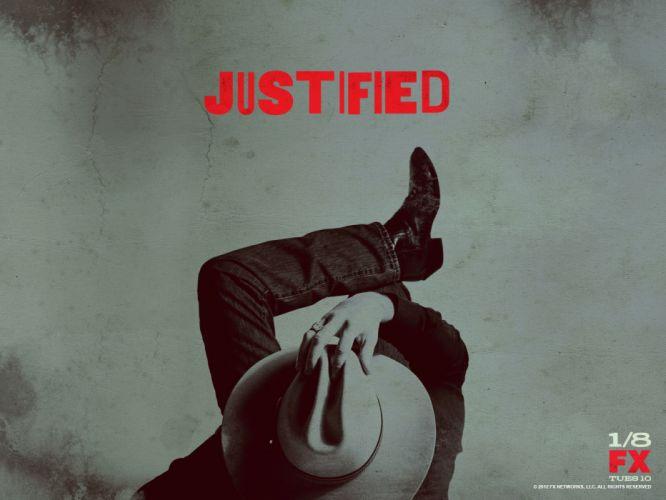 JUSTIFIED action crime drama (46) wallpaper