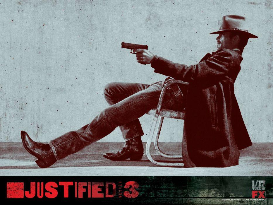 JUSTIFIED action crime drama (75) wallpaper