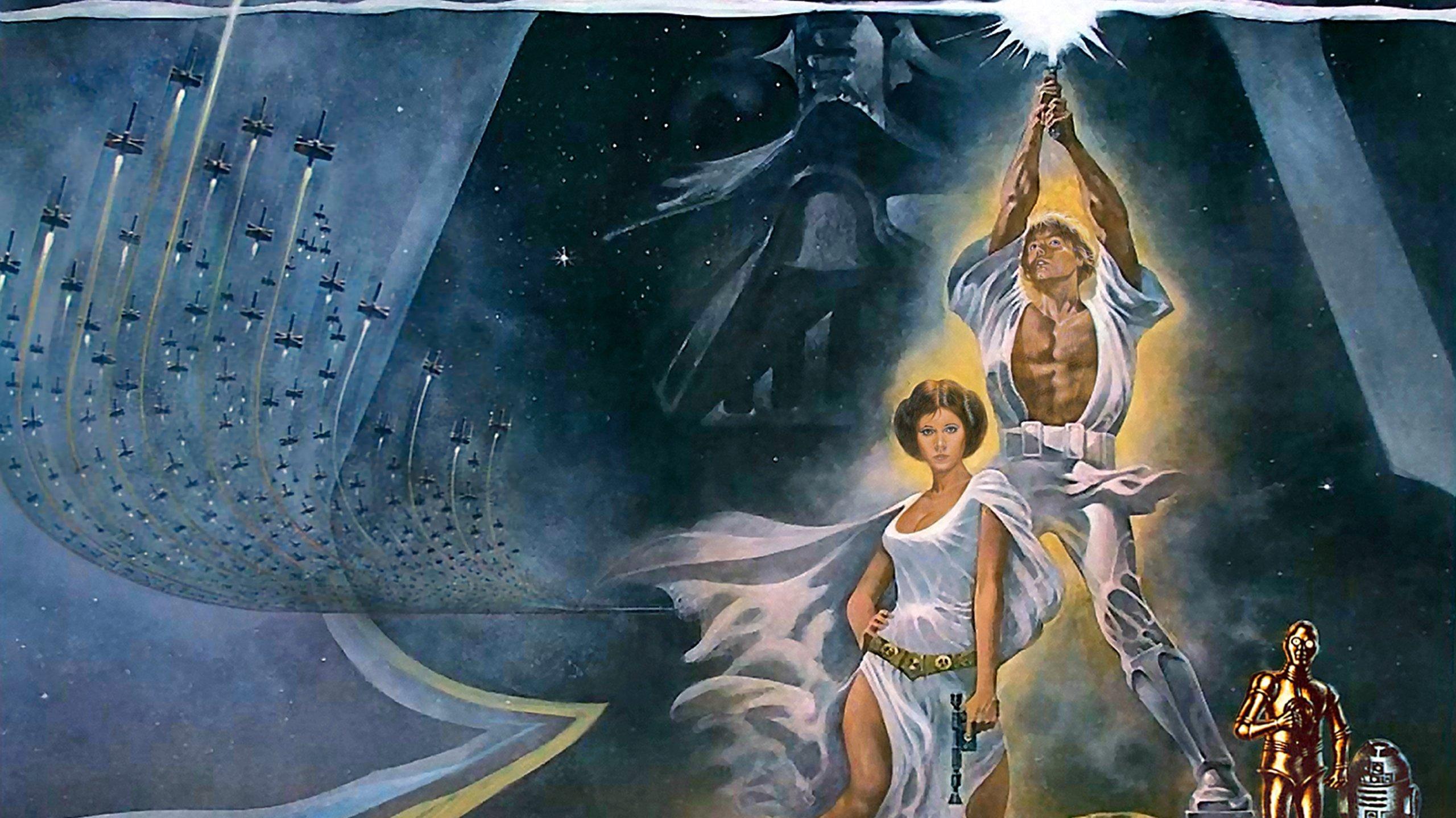star wars: a new hope wallpaper | 2560x1440 | 395390 | wallpaperup