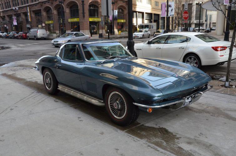 1967 Chevrolet Corvette c2 coupe stingray vintage wallpaper