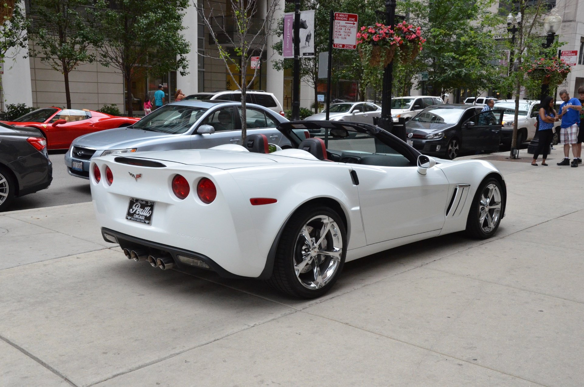 2013 chevrolet corvette c6 convertible white z16 grand. Black Bedroom Furniture Sets. Home Design Ideas