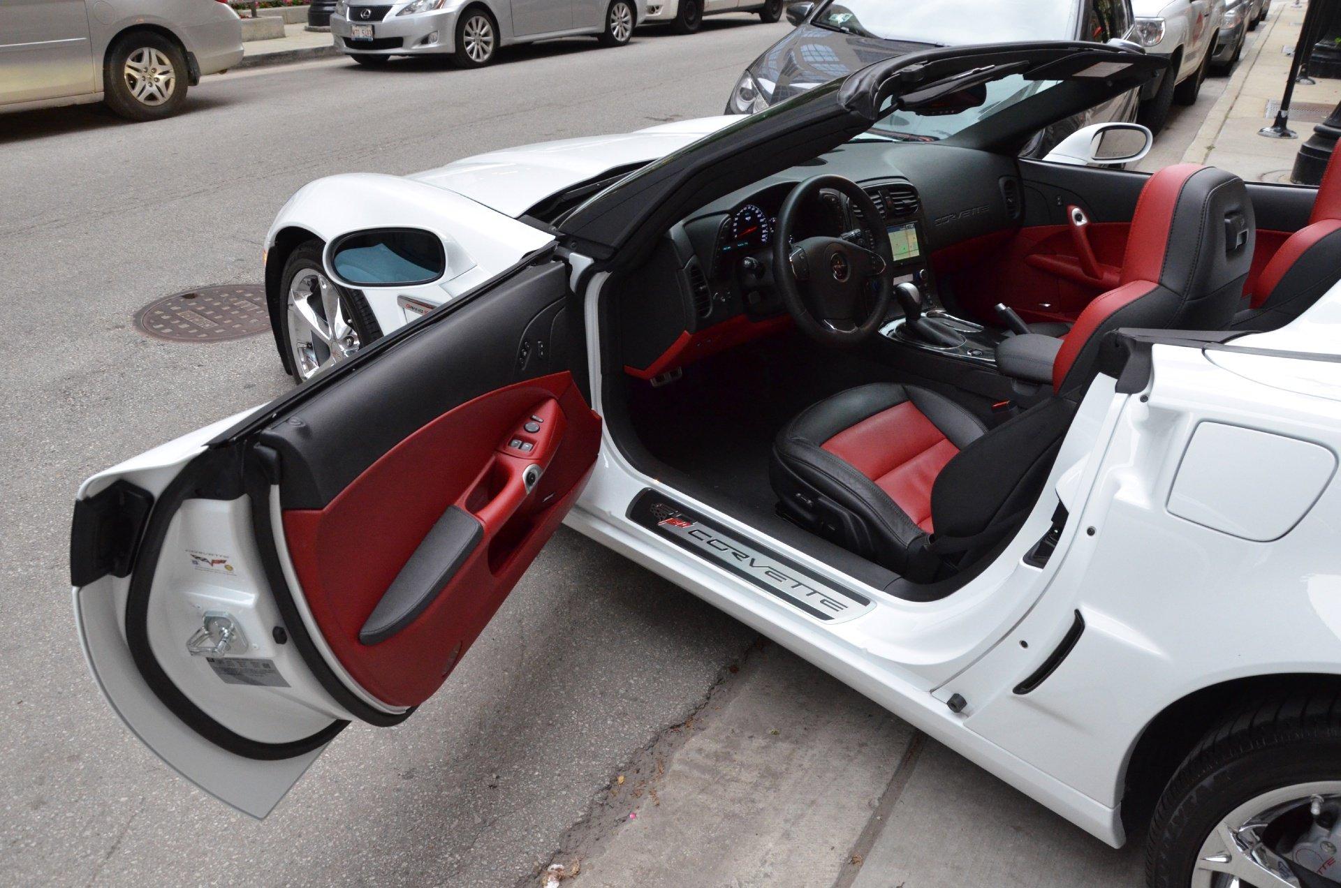 2013 Corvette White