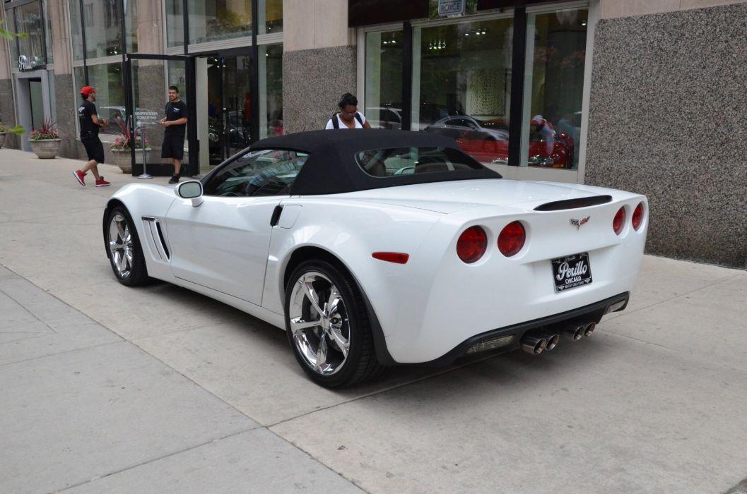 2013 Chevrolet Corvette c6 convertible white Z16 GRAND SPORT  wallpaper