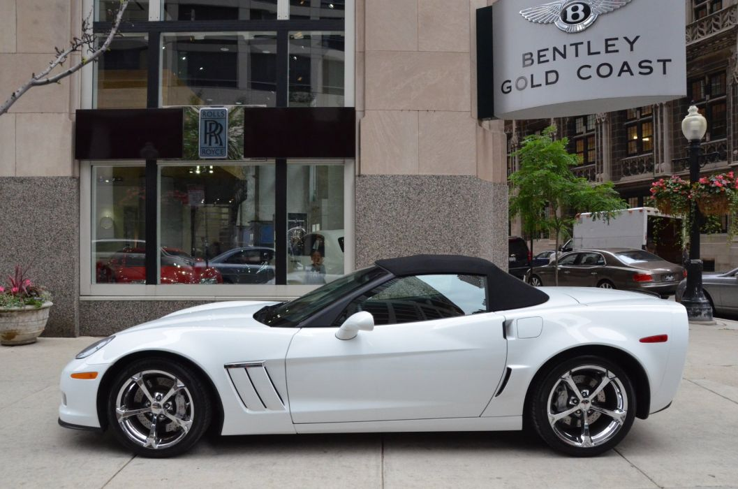 2013 Chevrolet Corvette C6 Convertible White Z16 Grand