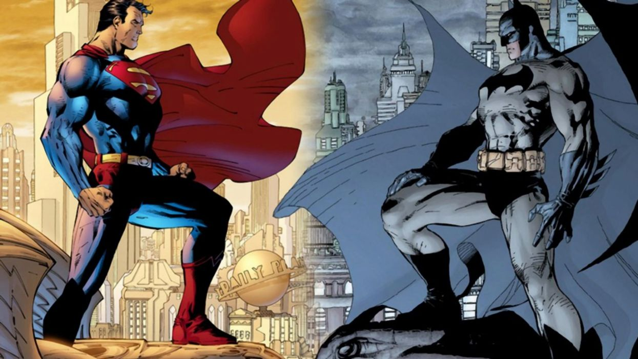 Superman/Batman wallpaper