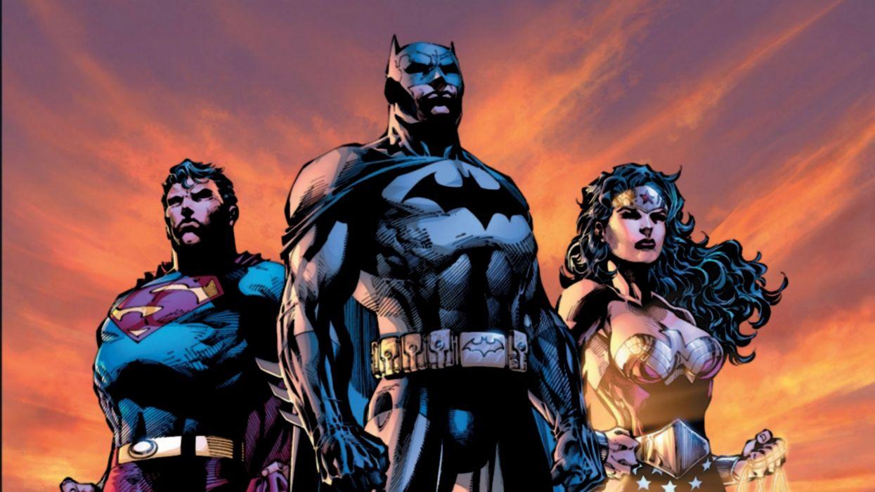 Superman/Batman/Wonder Woman wallpaper
