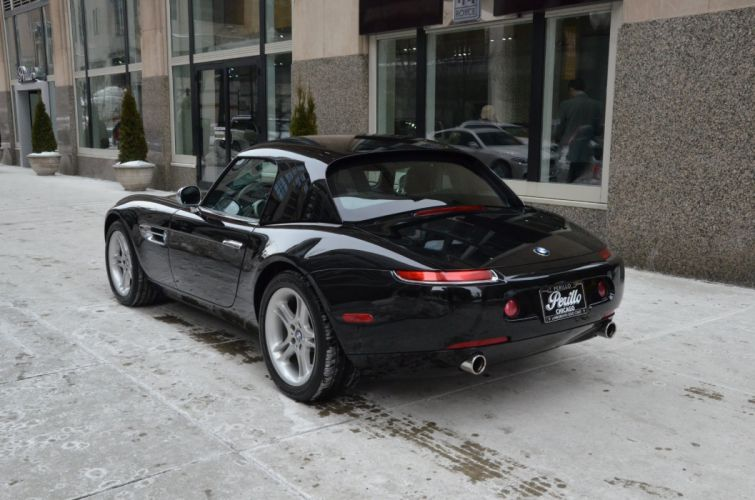 2003 BMW Z 8 convertible cabriolet black germany wallpaper