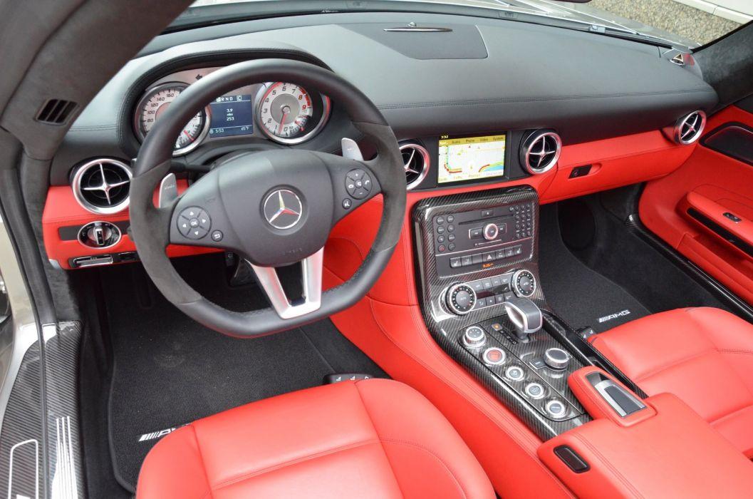 2012 Mercedes SLS amg convertible cabriolet germany SILVER  wallpaper
