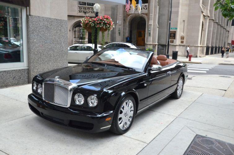 2007 Bentley Azure convertible cabriolet luxury black BELUGA wallpaper
