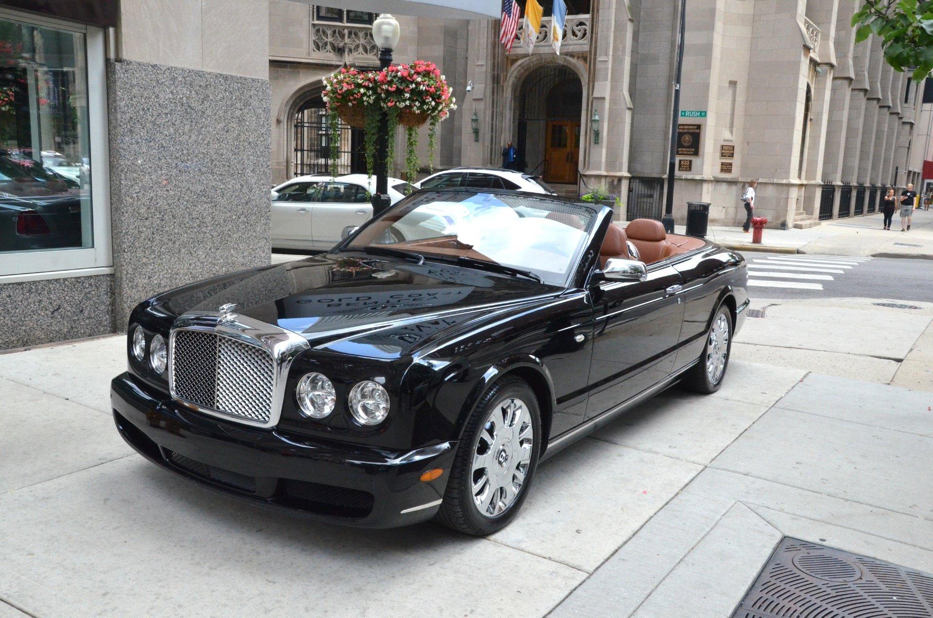 2007 bentley azure convertible cabriolet luxury black. Black Bedroom Furniture Sets. Home Design Ideas