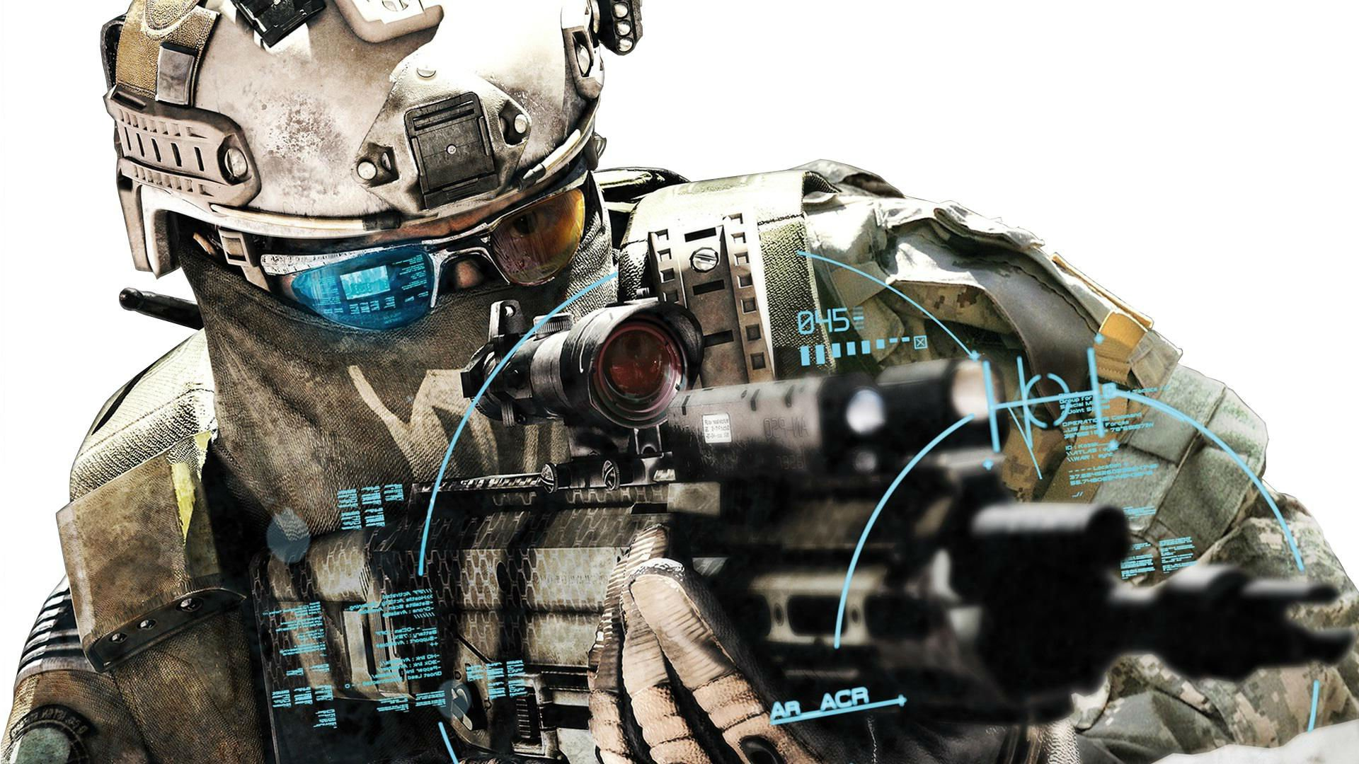 GHOST RECON FUTURE SOLDIER military shooter action tom ...