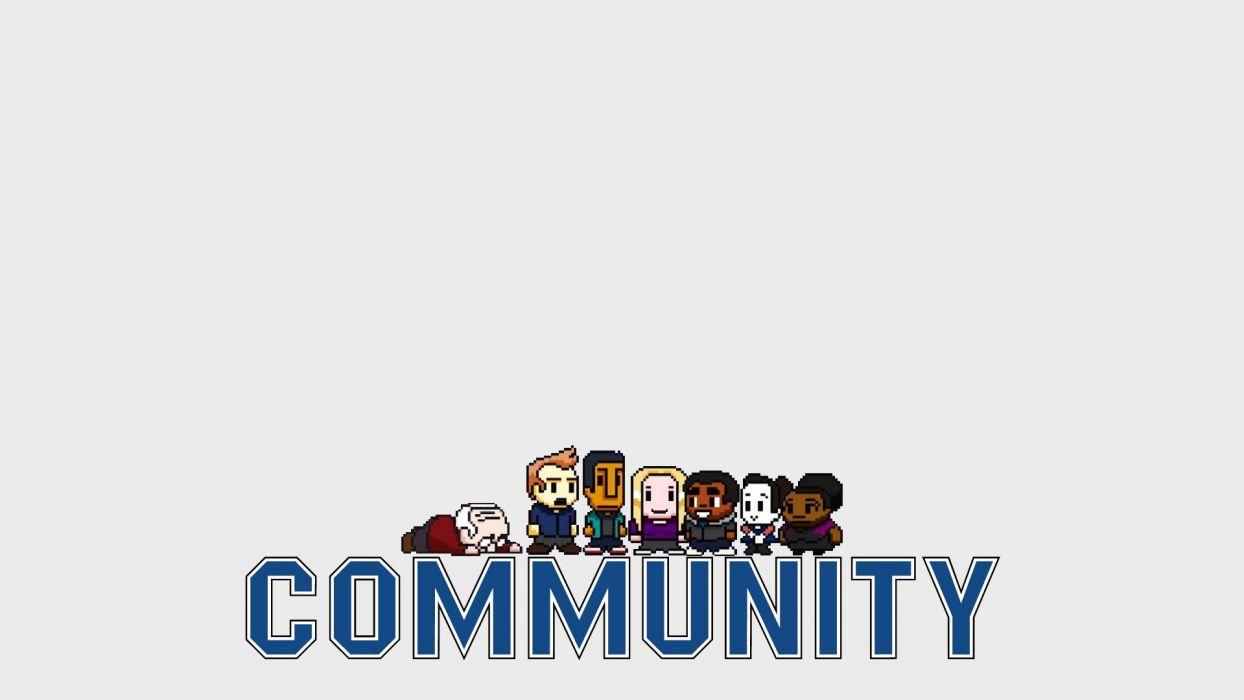 COMMUNITY comedy series wallpaper