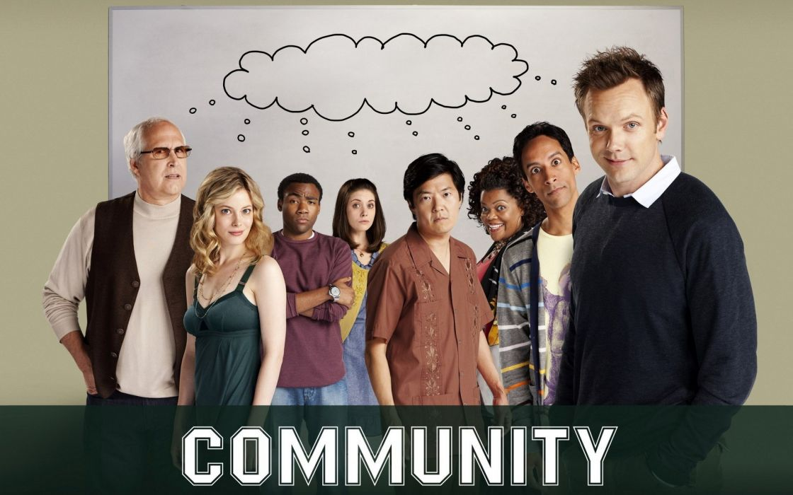 COMMUNITY comedy series wallpaper