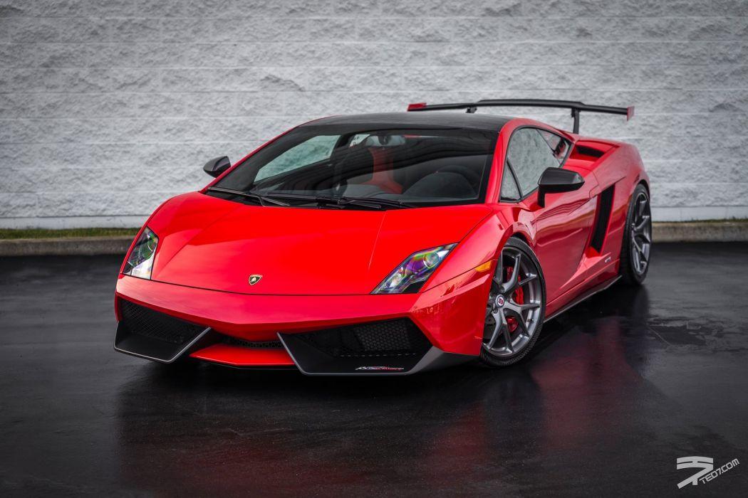 Lamborghini Gallardo LP 570-4 Super Trofeo Stradale Italian Dreamcar Supercar Exotic  Sportscar rossa red rouge wallpaper