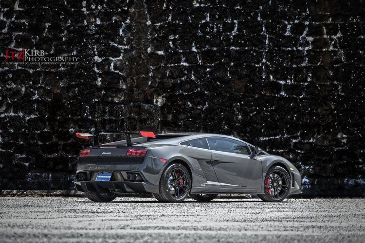 Lamborghini Gallardo LP 570-4 Super Trofeo Stradale Italian Dreamcar Supercar Exotic Sportscar grise grigio gray wallpaper