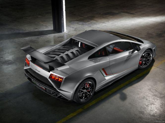 2013 Lamborghini Gallardo LP 570-4 Squadra Corse Italian Dreamcar Supercar Exotic grigio grise gray wallpaper