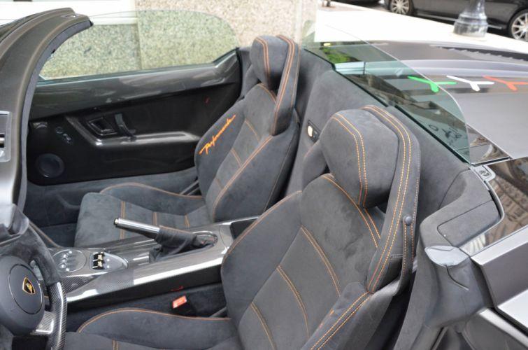 Lamborghini Gallardo LP570-4 Spider Performante Cabriolet Convertible Roadster Italian Dreamcar Supercar Exotic Sportscar nero noir black matt mat opaco wallpaper