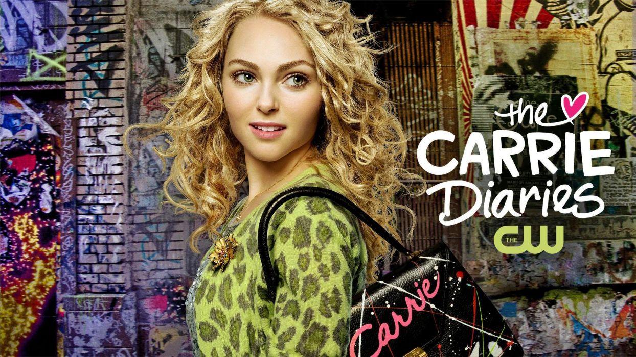 CARRIE DIARIES comedy romance babe series AnnaSophia Robb (14) wallpaper