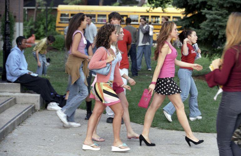 MEAN-GIRLS teen comedy mean girls wallpaper