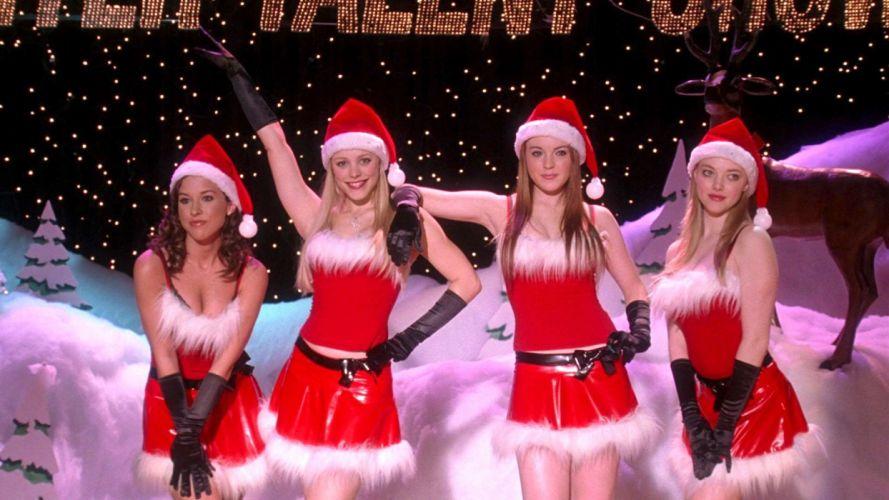 MEAN-GIRLS teen comedy mean girls christmas wallpaper