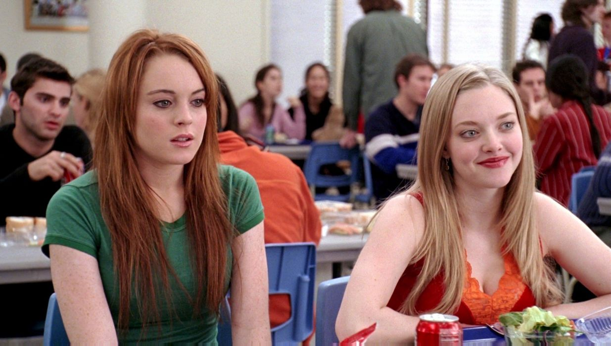 mean-girls teen comedy mean girls babe lindsay lohan (58) wallpaper