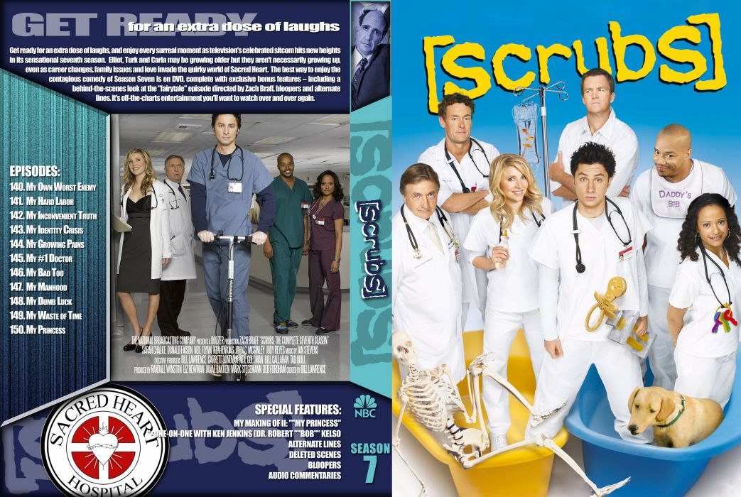 SCRUBS comedy drama series medical (1) wallpaper
